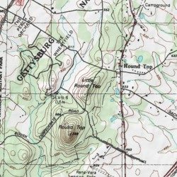 how to find latitude and longitude from topographic map tube