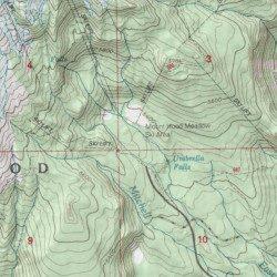 Mount Hood Meadows Ski Area Oregon Mount Hood South Usgs