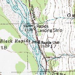 Black Rapids Alaska Mount Hayes C 4 Usgs Topographic Map